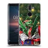 Head Case Designs Oficial Anne Stokes Regalo Sorpresa Navidad Carcasa de Gel de Silicona Compatible con Nokia 8 Sirocco