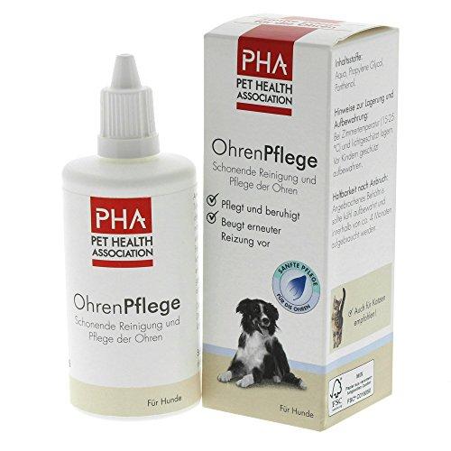 PHA Hund, Reinigung und Pflege der Ohren, Tropfen, OhrenPflege, 100 ml