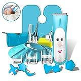 Baby-Haarschneider,Geräuscharm Cutter Pflege Baby Haarschneider Werkzeug Schnurlose...