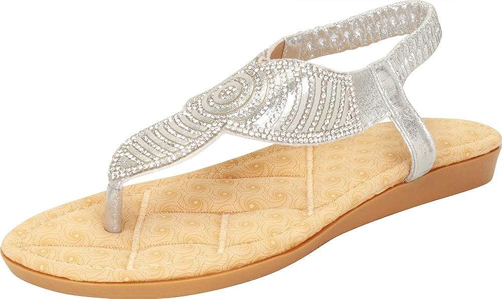 Cambridge High order Select Women's T-Strap Crystal Rhinestone Glitte El Paso Mall Thong