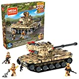 Mega Construx Army Tank Military Toy Building Set with Action Figure