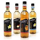 DAVINCI GOURMET Syrup Variety, 750 ml, 4 Pack