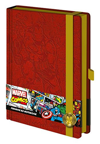 Marvel sr72205 Iron Man Premium Notebook (A5)
