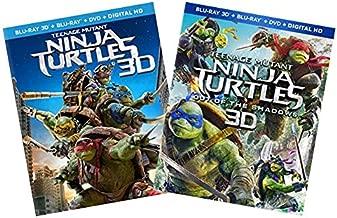 TMNT 2-Pack Blu-ray 3D Collection: Teenage Mutant Ninja Turtles / Teenage Mutant Ninja Turlles: Out of the Shadows [Blu-ray 3D + Blu-ray + DVD + Digital HD] [Megan Fox, Will Arnett]