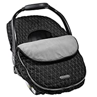 JJ Cole Car Seat Cover, Black Tri-Stitch