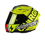 SCORPION Casque Motocorpion EXO 2000 EVO AIR Bautista Replica III, Jaune, Taille M