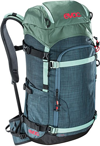 evoc, mens, 7017207172, heather slate / olive, 62 x 28 x 18 cm, 32...