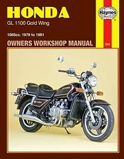 Honda : G L-1100 Goldwing, 1979 Thru 1981