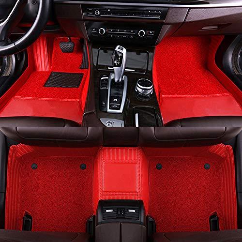 LUVCARPB Alfombrillas para el Interior del Coche, aptas para Chevrolet Sonic Epica Aveo Sail Captiva, Accesorios Impermeables para alfombras