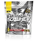 Muscletech Essential Series Platinum 100% Iso Whey Supplement, Strawberry Shortcake, 3 Servings