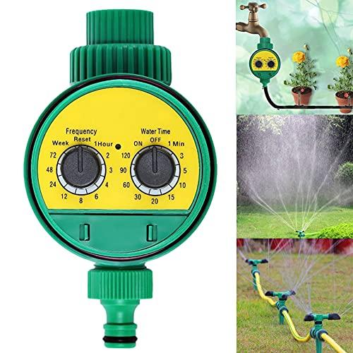 Besen, regolatore di irrigazione da giardino con timer automatico di controllo dell irrigazione a batteria, pressione dell acqua regolabile, per giardini, verdure, prati e fattorie