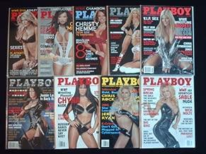 PLAYBOY MAGAZINE (9ct Lot) WWE Superstar Diva's ,2007 Ashley Massaro, 2006 Candice Michelle, 2005 Christy Hemme, 2004 Sable vs Torrie, 2003 Torrie Wilson, 2002 & 2000 Chyna, 1999 Sable 1 & 2 (WWE - Wrestling!)