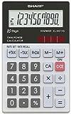 Sharp Calculator EL-W211GGY - Calculadora (bolsillo, Científico, Ión de litio, 56g, 70 x 8,15 x 117 mm)