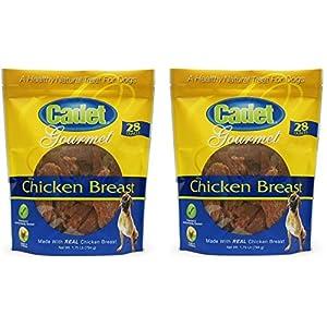 Cadet Chicken Breast Jerky Dog Treats, 28 Ounces Per Bag (2 Pack)