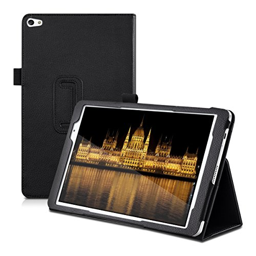 kwmobile Hülle kompatibel mit Huawei MediaPad T2 10.0 Pro - Slim Tablet Cover Hülle Schutzhülle mit Ständer Schwarz
