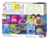 4M Deluxe Crystal Growing Combo Steam Science Kit - DIY Geology, Chemistry, Art, STEM Toys Gift for Kids & Teens, Boys & Girls [Amazon Exclusive]