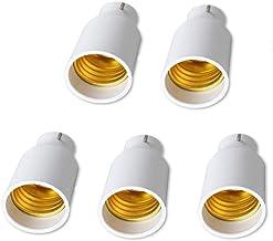 Haobase B22 to E27 Bulb Adapters 5 Pack Lamp Holder Converter Base Bulb Socket Adapter Converter Lamp Holders Bayonet Cap ...