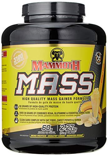 Interactive Nutrition Mammoth Mass Supplement, 5 lbs, Banana, 2.2kg B