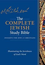 The Complete Jewish Study Bible: Illuminating the Jewishness of God's Word; Blue Flexisoft Edition