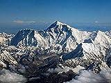 Awttmua Puzzles De Madera De 1000 Piezas MT.Everest Large Puzzle Game para Adultos Y Adolescentes