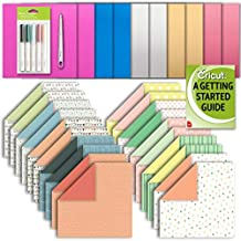 Cricut Machine Deluxe Patterned and Foil Paper, Scoring Stylus and Fine Point Pen Set