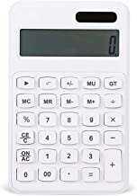$35 » ZZL Multifunction Calculator LED HD Display Calculator Office Desktop Calculator Solar and Battery Dual Power Electronic C...
