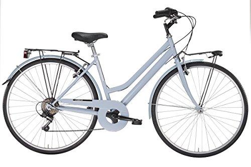 MBM Turing, Bicicletta da Trekking Donna, Blu (Azzurro A25), 28'