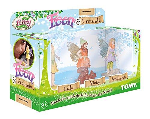 My Fairy Garden Feen & Freunde Erweiterungsset, Garten für Kinder ab 4 Jahren zum selber Pflanzen & Spielen, Drei der beliebtesten Feen, Kreativset Mädchen, Spielzeug für Kleinkinder