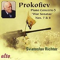Pno Con 5 War Sons Sviatoslav Richter by Prokofiev