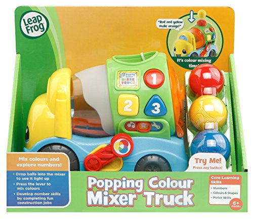 LeapFrog- Popping Colour Mixer Truck Learning Baby Toy with