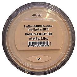 Bare Escentuals Bare Minerals Foundation Matte SPF 15 Fairly Light