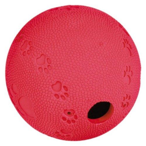 Trixie Labyrinth-Snacky Naturgummi-Snackball, Spielzeug, Geschicklichkeit für Hunde