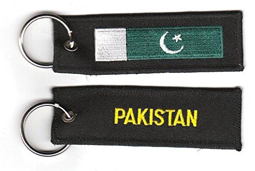 Schlüsselanhänger Pakistan Anhänger Fahne Flagge NEU