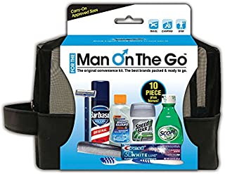 "Convenience Kits ""Man On The Go"" Premium 10-Piece Travel Kit"