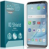 IQ Shield Matte Screen Protector Compatible with Samsung Galaxy S8 (Case Friendly and Edge to Edge)(2-Pack) Anti-Glare Anti-Bubble Film