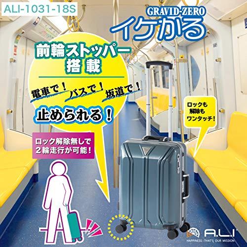 アジア ラゲージ アジア ラゲージ ALI-1031-18Sガンメタブラッシュ