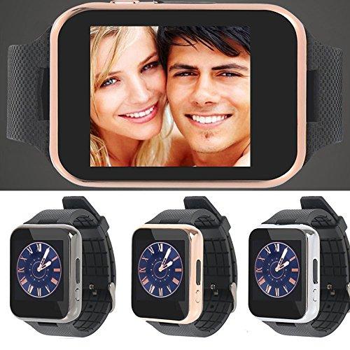 Bluetooth Smart-Uhr-Armbanduhr-Handy GSM-SIM-Karte für Android Iphone Samsung LG Sony HTC