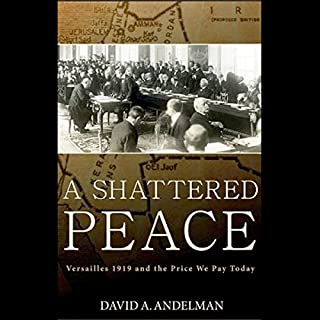 A Shattered Peace audiobook cover art