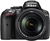 Nikon D5300 24.2MP Digital SLR Camera (Black) with 18-140mm...