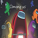 Among Us Calendar 2021-2022: Monthly Colorful Among Us Calendar 2021-2022 ,18 Months planner |8.5x8.5 in|January of 2021 -june of 2022 planner |kids,students,Among us lovers gift