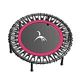 Jumping Fitness Trampolin und leise Gummiseilfederung Sprung für Kinder & Erwachsene in Zuhause...