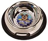 Dogit Stainless Steel Non-Spill Dog Dish, 16-Ounce
