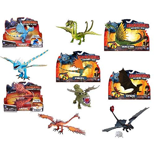Noddy- DreamWorks Dragons Action, Modelli Assortiti, 6037422