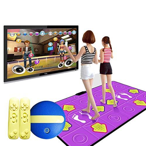 Dance Carpet Consola de Juegos HD Tecnología inalámbrica Estilo Arcade Juegos de Baile para Adultos/niños se reúnen