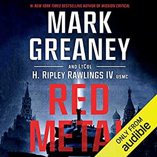 Red Metal audiobook cover art