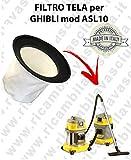 Filter Leinwand für Staubsauger Ghibli Typ ASL10