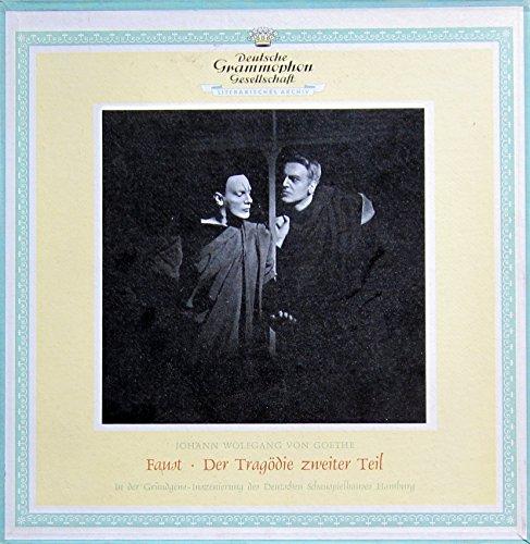 Faust II (Der Tragödie zweiter Teil) - in der Gründgens-Inszenierung des Deutschen Schauspielhauses Hamburg [Vinyl Schallplatte] [3 LP Box-Set]