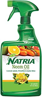 Natria 706250A Neem Oil Pest And Disease Control, 24-Ounce, Ready-to-Use