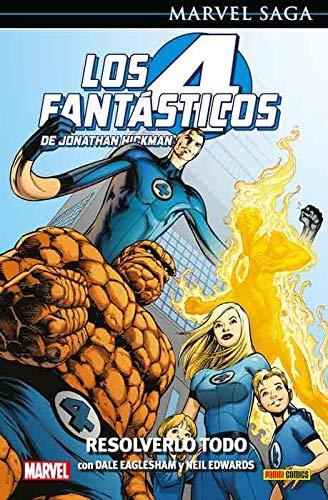 Los 4 Fantásticos de Jonathan Hickman 2. Resolverlo todo: RESUÉLVELO TODO (MARVEL SAGA)