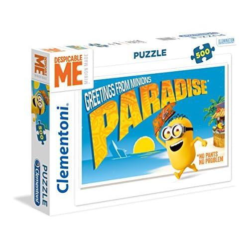 Clementoni 35030 - Puzzle 500 1 Minions